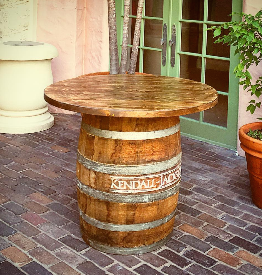 Wine Barrel W Custom Table Top Cristina Martin  2016 10 19T18:14:53+00:00. © Copyright ...